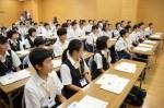 令和元年度体験入学<那珂川中学校・天拝中学校・二日市中学校>【9】