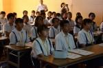 令和元年度体験入学<那珂川中学校・天拝中学校・二日市中学校>【12】