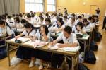 令和元年度体験入学<那珂川中学校・天拝中学校・二日市中学校>【21】
