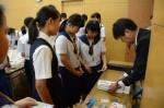 令和元年度体験入学<那珂川中学校・天拝中学校・二日市中学校>【36】