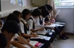 令和元年度体験入学<那珂川中学校・天拝中学校・二日市中学校>【40】
