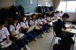 令和元年度体験入学<那珂川中学校・天拝中学校・二日市中学校>【44】