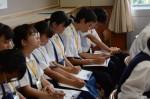 令和元年度体験入学<那珂川中学校・天拝中学校・二日市中学校>【51】