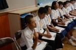 令和元年度体験入学<那珂川中学校・天拝中学校・二日市中学校>【53】