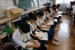令和元年度体験入学<那珂川中学校・天拝中学校・二日市中学校>【58】