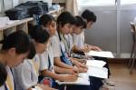 令和元年度体験入学<那珂川中学校・天拝中学校・二日市中学校>【59】