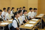 令和元年度体験入学<筑紫丘中学校>【9】