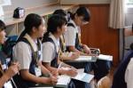 令和元年度体験入学<筑紫丘中学校>【54】