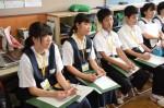 令和元年度体験入学<筑紫丘中学校>【62】