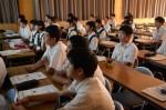 令和元年度体験入学<学業院中学校・平尾中学校>【14】