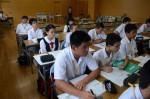 令和元年度体験入学<学業院中学校・平尾中学校>【30】