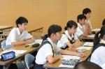令和元年度体験入学<学業院中学校・平尾中学校>【31】