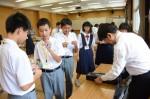 令和元年度体験入学<学業院中学校・平尾中学校>【45】
