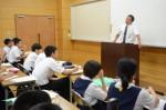 令和元年度体験入学<学業院中学校・平尾中学校>【91】
