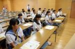 令和元年度体験入学<三輪中学校>【7】