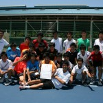 平成24年福岡県高等学校テニス大会兼全九州全国高校総体福岡県予選